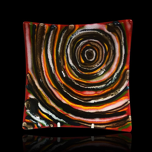 Made to order Labyrinth 24cm Square Dish