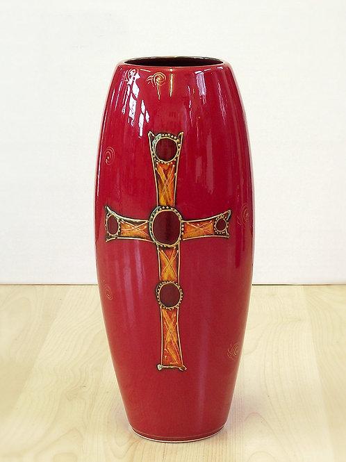 Staffordshire Hoard Skittle Vase 32cm