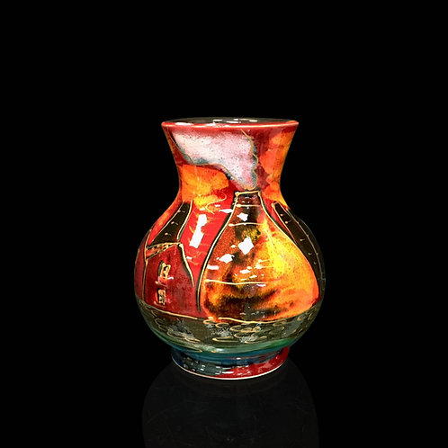 Potteries Past Trojan Vase 14cm