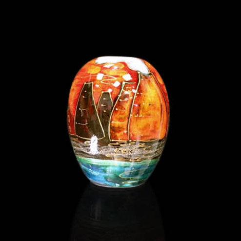 Potteries Past Delta Vase 15cm