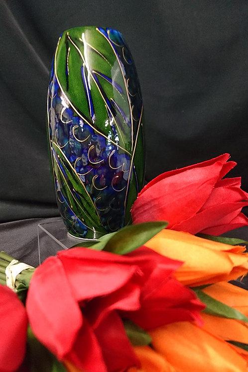 Made to order Blueberries Skittle 15cm Vase