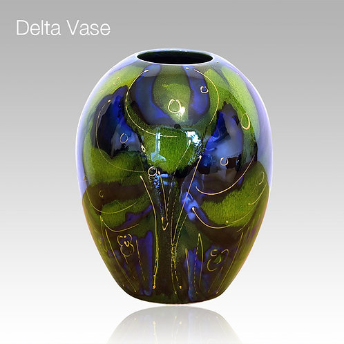 Twilight Delta Vase 15cm