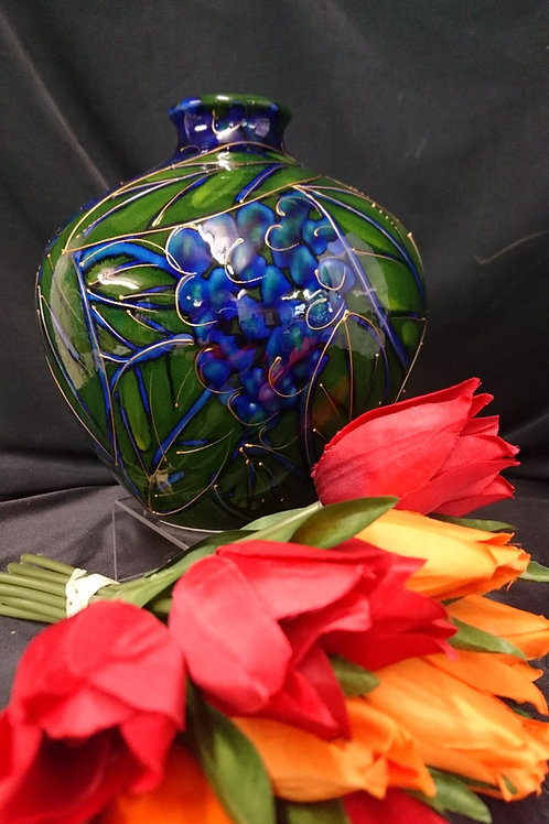 Blueberries Onion Vase