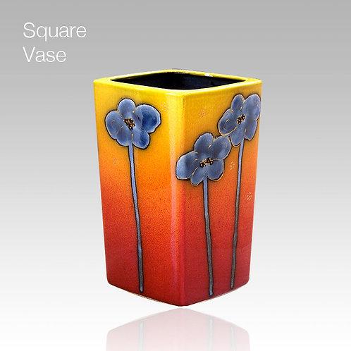 Harmony Square Vase 12cm