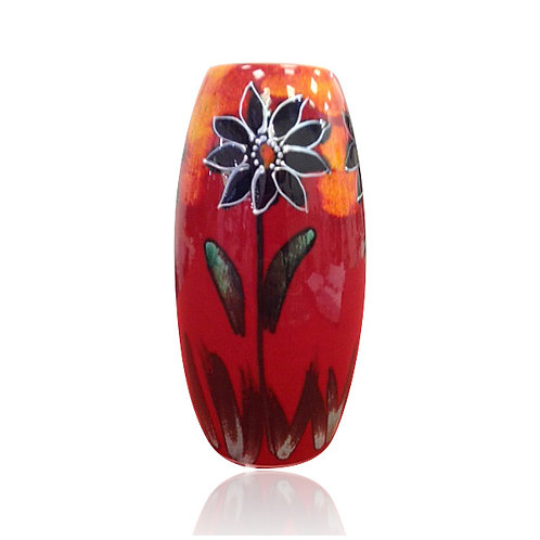 Black Dahlia One Off Skittle Vase