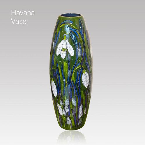 Snowdrop Havana Vase 50cm