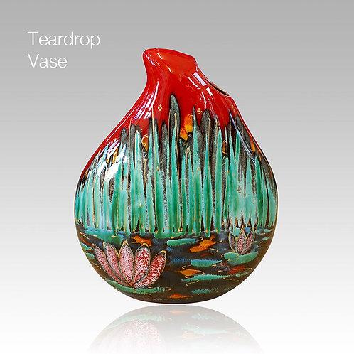 Lily Teardrop Vase 22cm