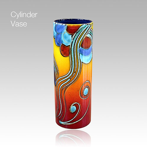 Allegro Cylinder Vase 27cm