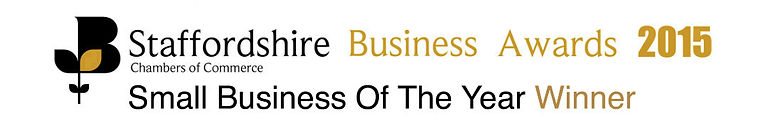Staffordshire Small Business of the Year Winner
