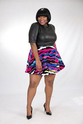 Fur Circle Skirt