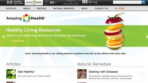Amazing Health Website