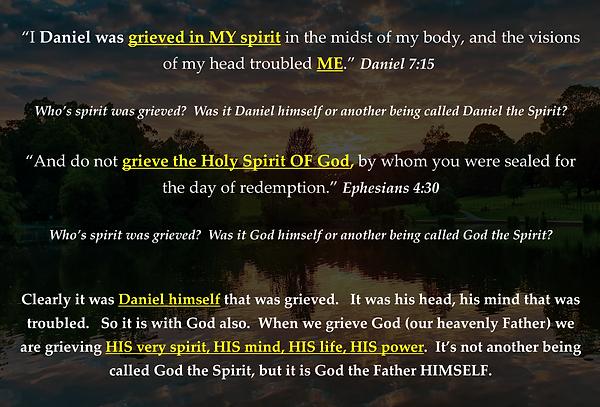 Grieve the Spirit