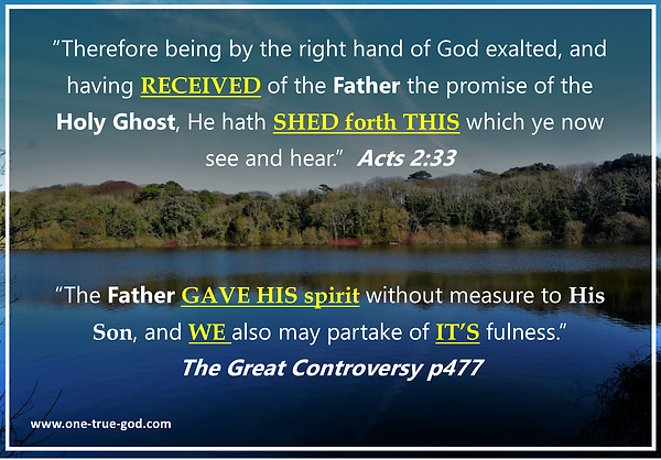 Receive Father's Spirit