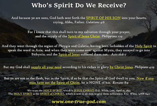 Spirit of Christ