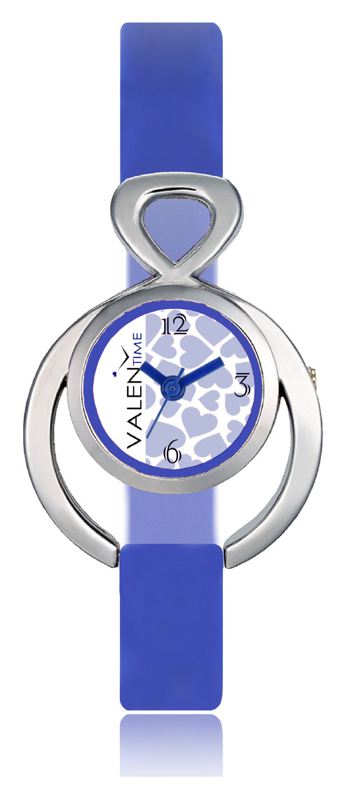 Valentime Designer Stylish Heart Dial Awesome Analog Watches For ...