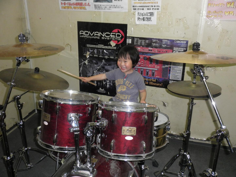 小学1年生ドラム