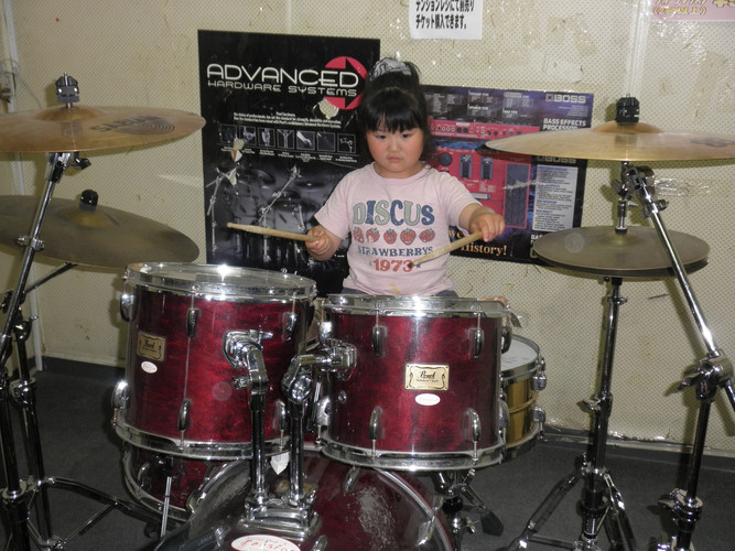 小学3年生 ドラム