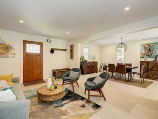 Arlington Ridge Modern Remodel - Living Room