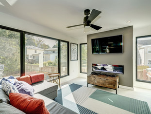 Arlington Ridge Modern Remodel - Family Room