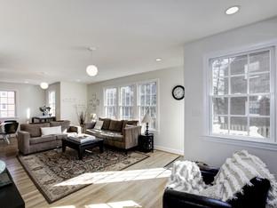 Arlington Forest 3-Story Addition - Living Room