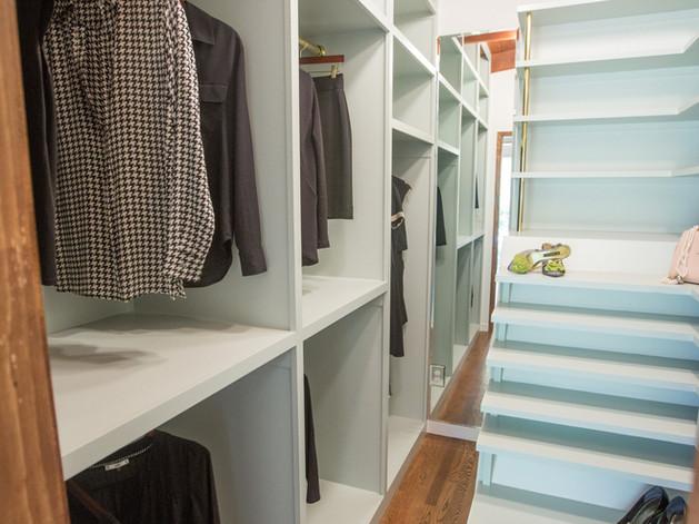Custom Walk-In Closet