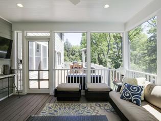 Arlington Screen Porch and Deck