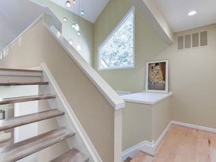 Open Riser Staircase