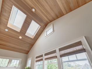 Fir Vaulted Ceiling