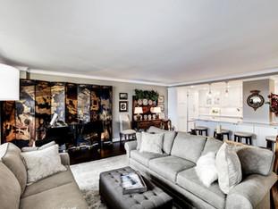 Arlington Apartment Remodel - Living Room