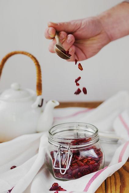 La infusión de té