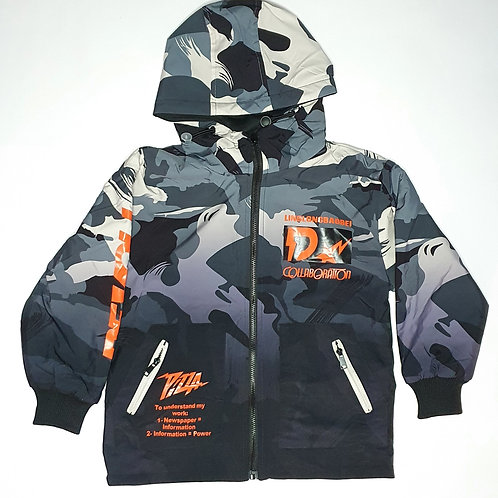 Boys Full Jacket Thick (Reversible)