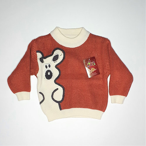Boys Woolen Thick Sweater