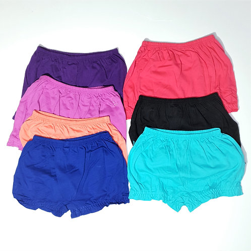 Girls Jockey Branded Bloomers (2 Pc Pack Assorted Colour)