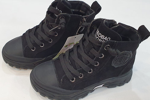 /Boots with Lace & Zipper (Boys)
