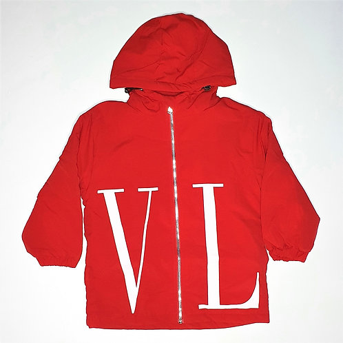 Girls Full Thick Jacke Style Hoodies With Zipper