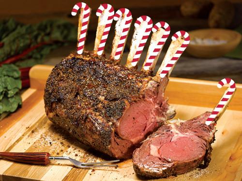 rib roast festive