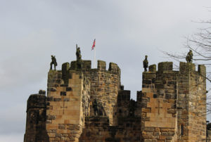 Alnwick Castle battlements