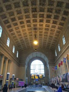 Union Station, Toronto, ceiling.