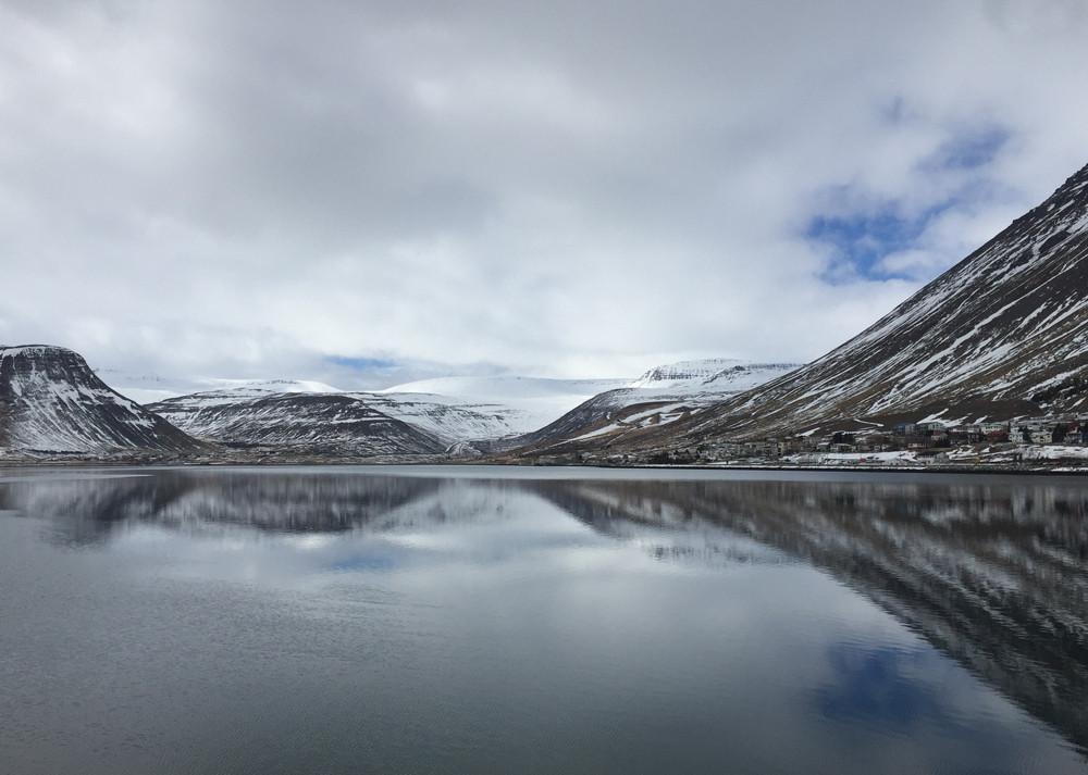 Isafjordur fjord