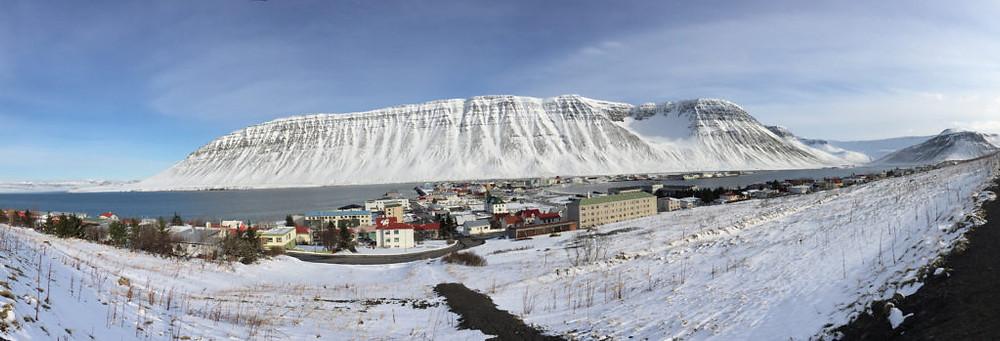 Isafjordur pano