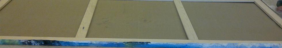 montaggio tele e dipinti