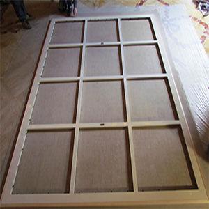 telai alluminio legno