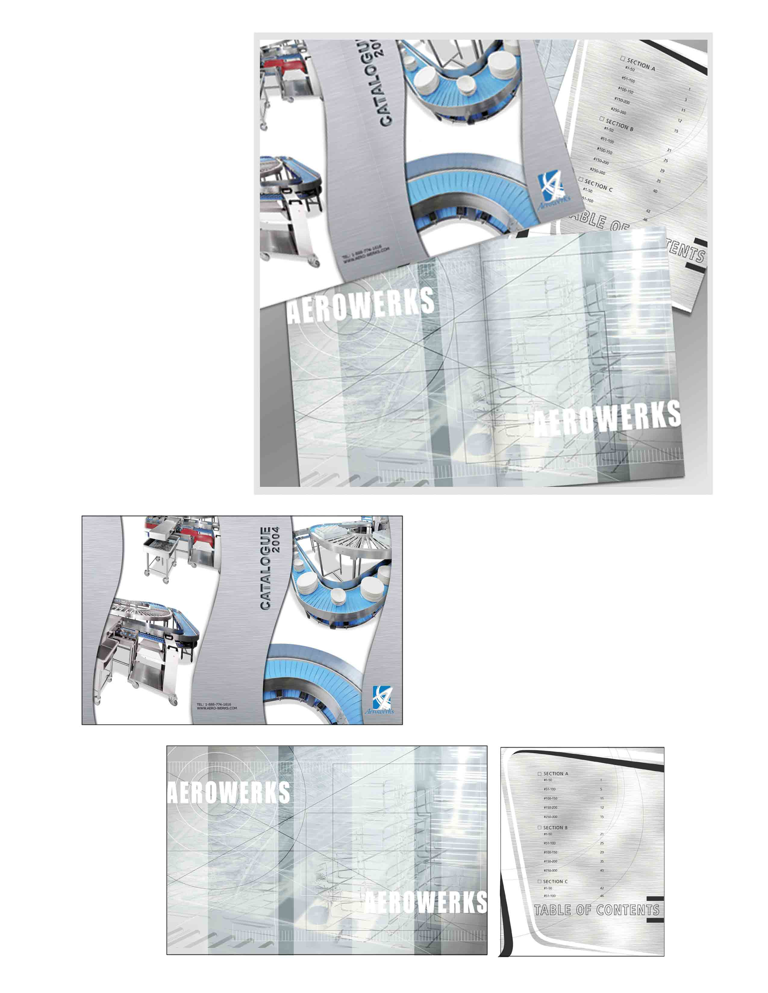 Catalogue Design for Aerowerks