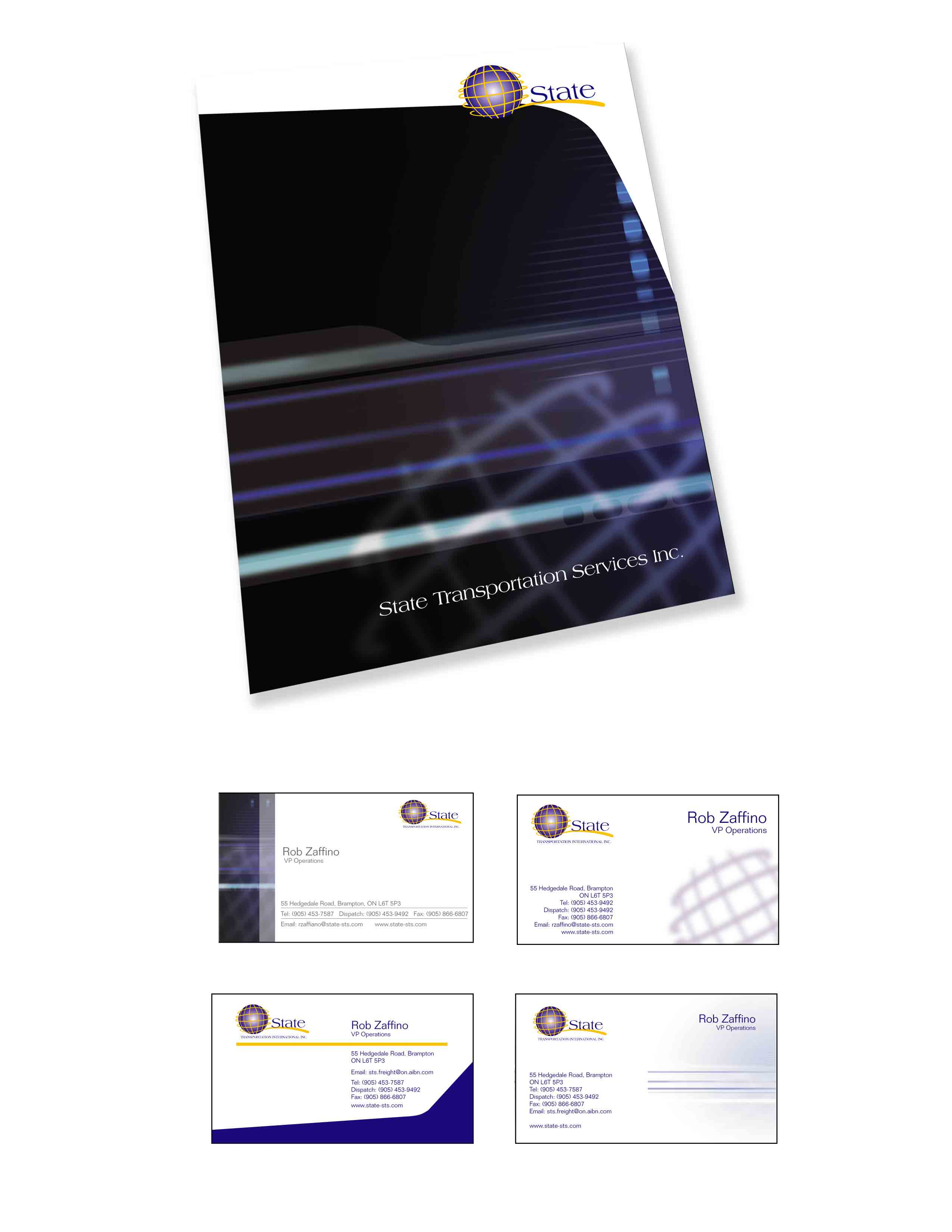 Folder & Business Card