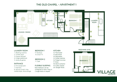 The Old Chapel Apartment 1
