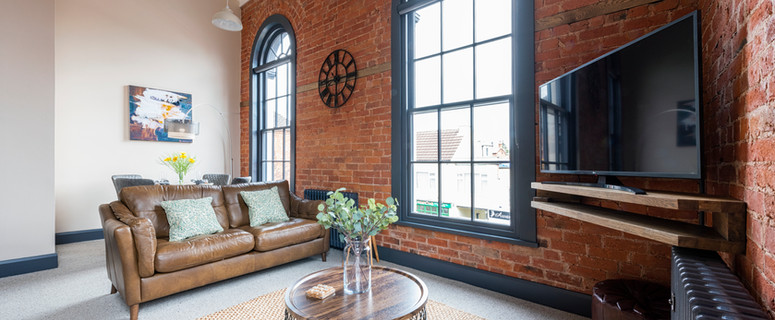 The Old Chapel Apartments have been developed in a former Methodist church. Built in 1848 and positioned in the centre of a bustling, yet quaint village of Edwinstowe