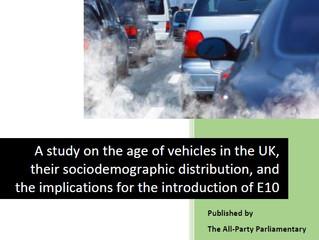 Study on vehicle age & implications of E10