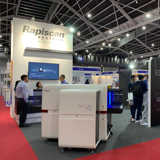 Rapiscan Systems @ Inter Airport SEA