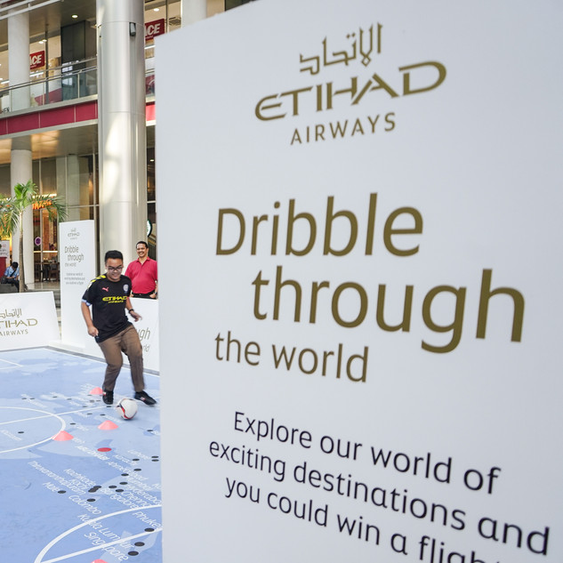 """Dribble through the World"" Challenge @ Jakarta, Indonesia"