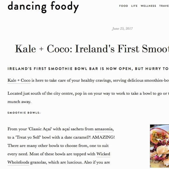 Dancing Foody